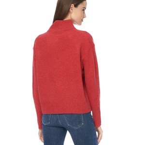 Lyra High Neck Jumper Garnet