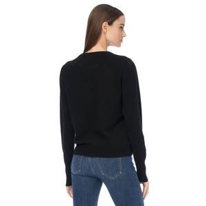 360 Sweater Melany Gthrd Shldr Jumper Black