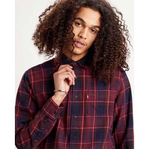 Levis Sunset 1 Pocket Check Shirt Azriel Sassafras