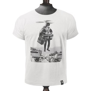 Traffic Buster T Shirt Vintage White