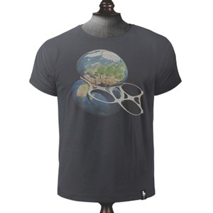 Strangled T Shirt Charcoal
