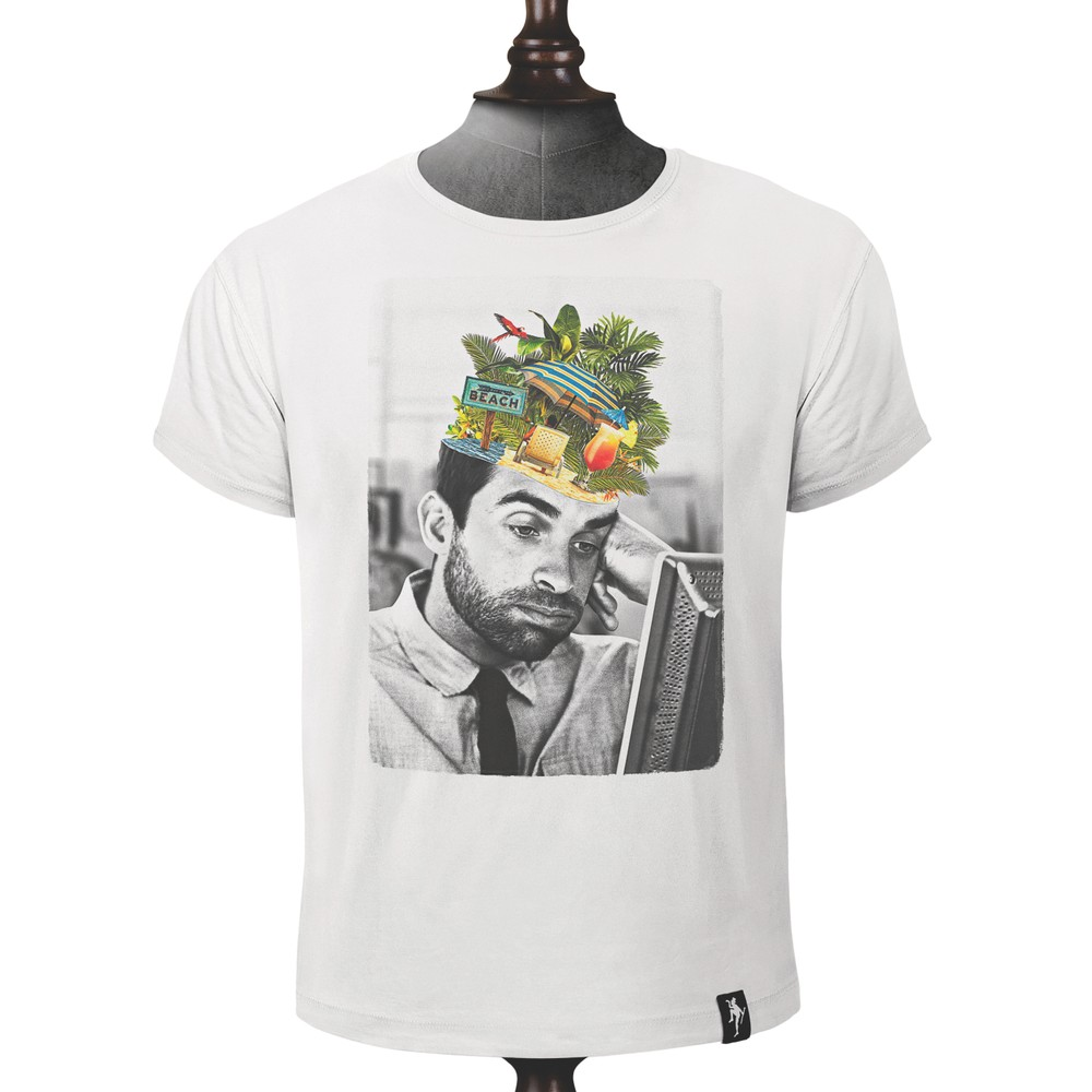 Dirty Velvet Day Dreamer T Shirt Vintage White