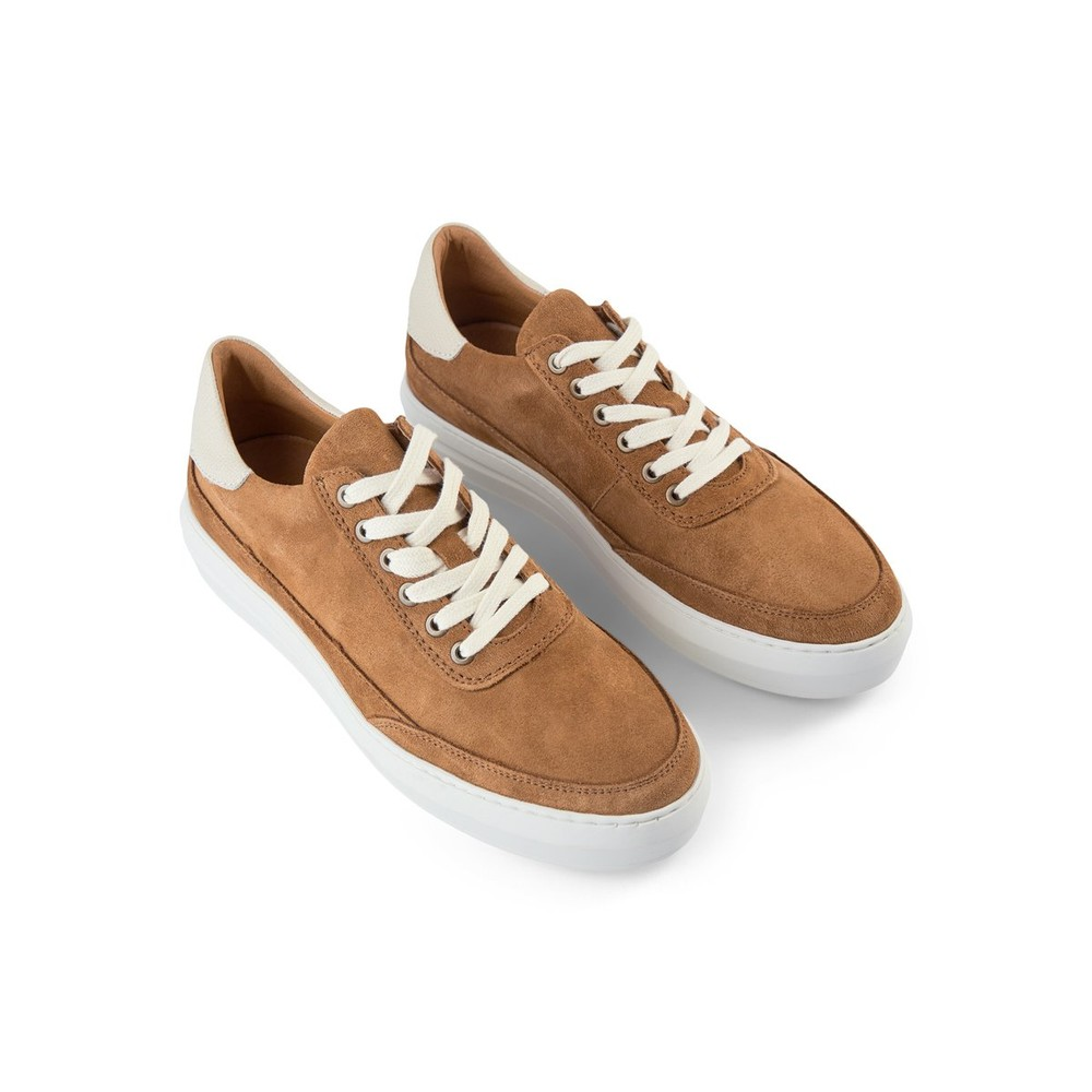 Shoe The Bear Aren Suede Trainer Tan