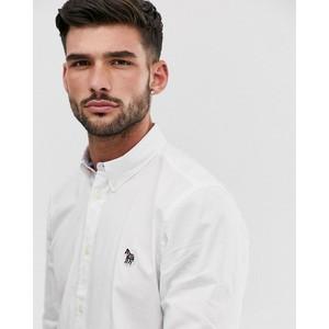 Paul Smith L/S Zebra Logo Tailored Shirt White