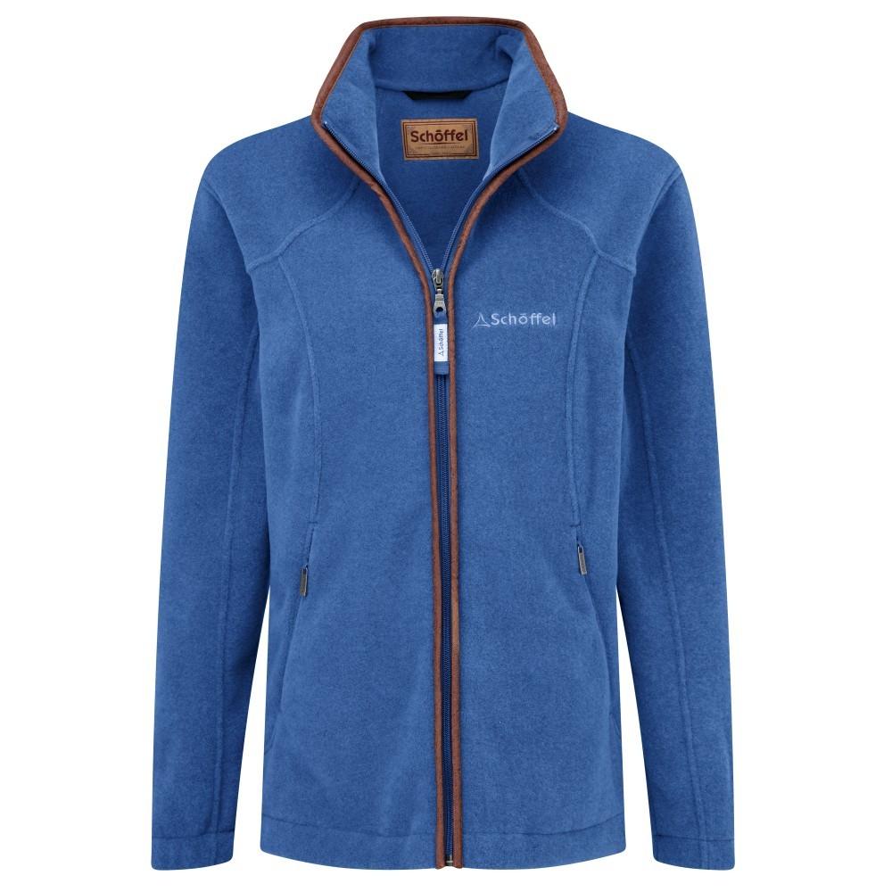 Schoffel Country Burley Ladies Fleece Cobalt Blue