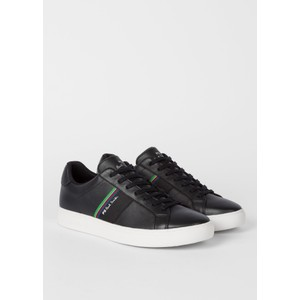 Rex Suede Trainer Black