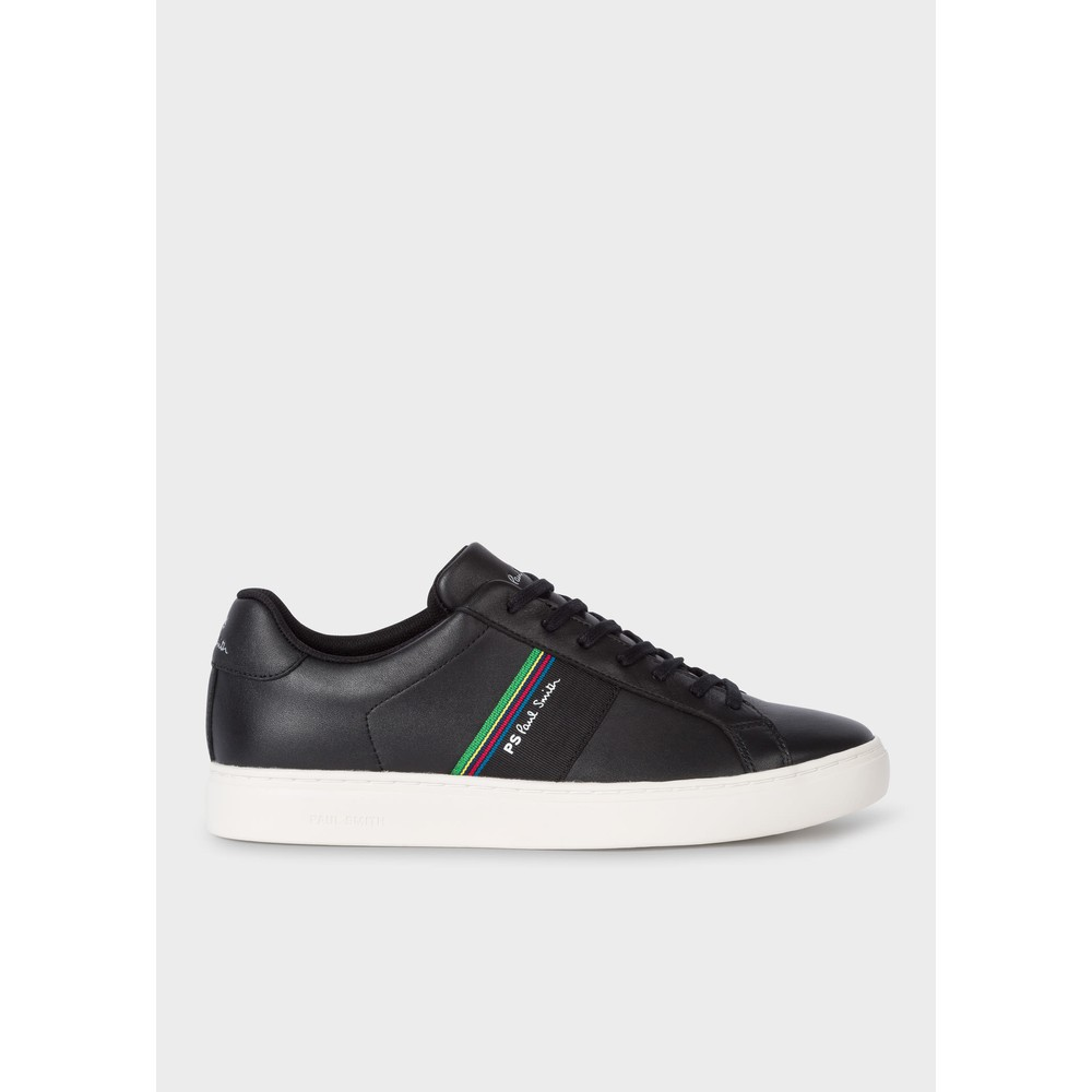 Paul Smith Shoes Rex Suede Trainer Black