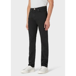 Tapered Fit Jean Charcoal Melange