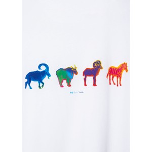 Paul Smith Goats/Zebra T-Shirt White