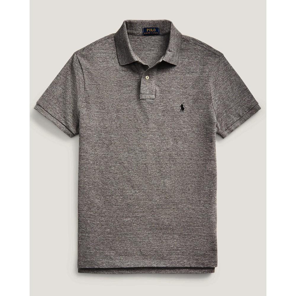 Polo Ralph Lauren Custom Slim Fit Polo Medium Flannel Grey