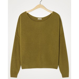 American Vintage Damsville L/S Wide Sweater in Marmot
