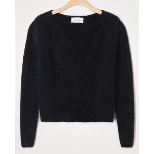 American Vintage Zabidoo Boat Neck Sweater in Black