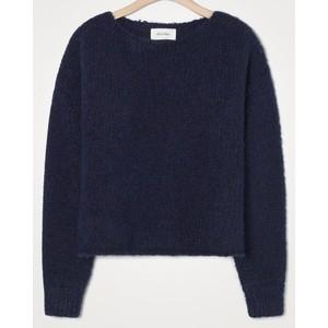 Tudbury Chunky Knit Sweater Navy Melange