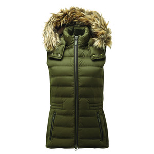 Chelsea Down Gilet With Hood