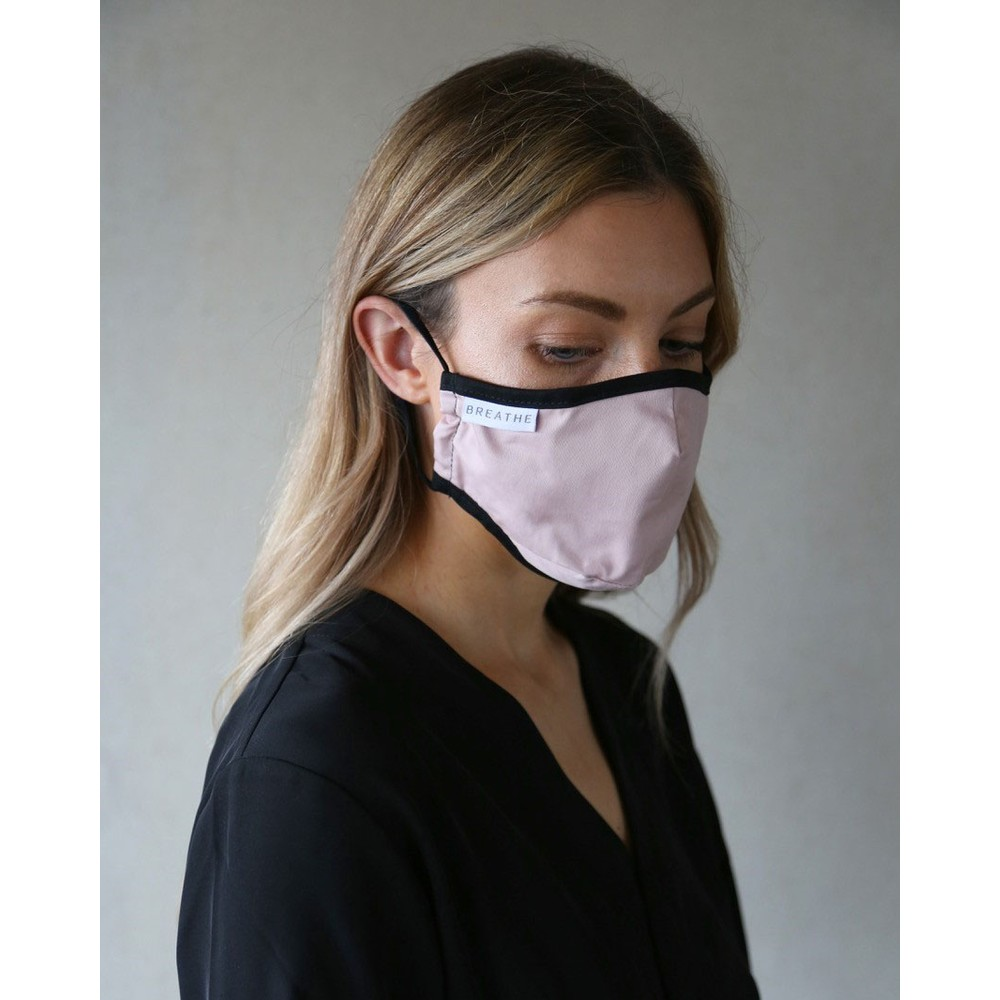 Breathe Adult Face Mask Pink
