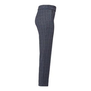 Riani Check Slim Fit Trousers Azzuro