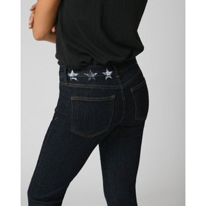 Five Colette Slim Leg Stars Jeans Dark Denim