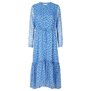 Lollys Laundry Anastacia Ditsy Flower Dress Cornflower Blue