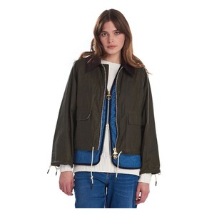 Barbour Margot Wax Jacket Archive Olive/Ancient