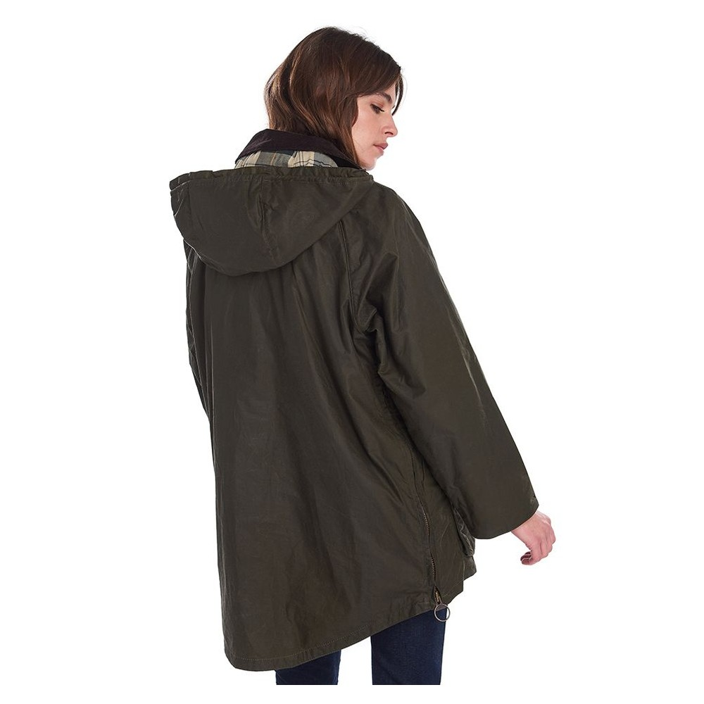 Barbour Coco Wax Jacket Archive Olive/Ancient