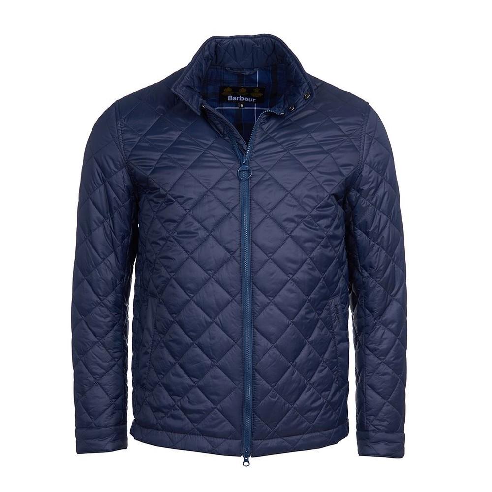 Barbour Woban Quilt Jacket Navy