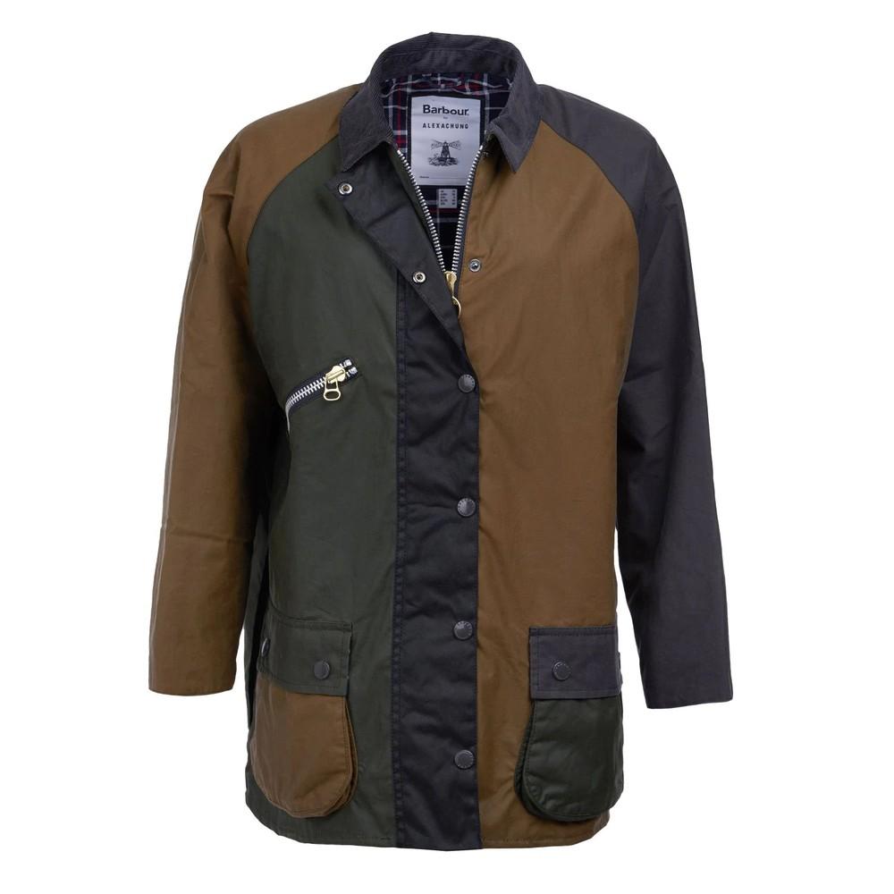 Barbour Patch Wax Jacket Patchwork