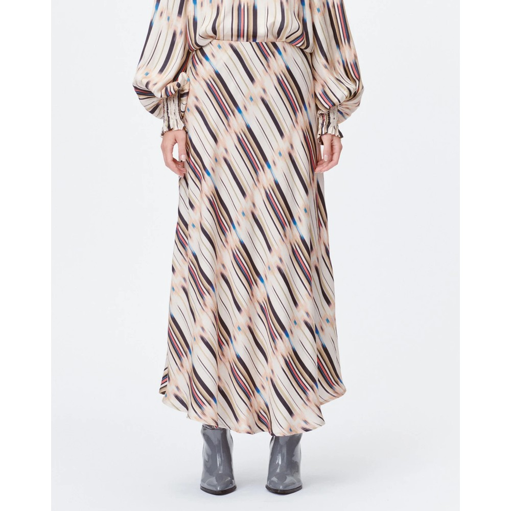 Munthe Lord A Line Printed Skirt Sand/Multi