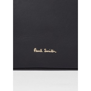 Paul Smith Accessories Tote Bag With Swirl Trim Black