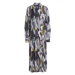 Bitte Kai Rand Confetti Collage Dress Grey/Multi