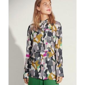 Bitte Kai Rand Cubist Composition Shirt Grey/Multi