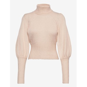 Catarina Turtle Neck Crop Jumper White Smoke
