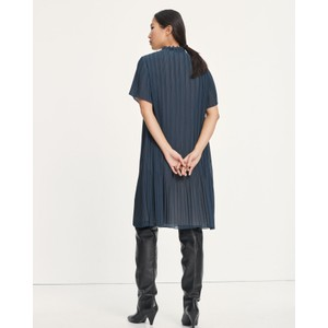 Samsoe Samsoe Lady S/S Pleated Dress Midnight Navy