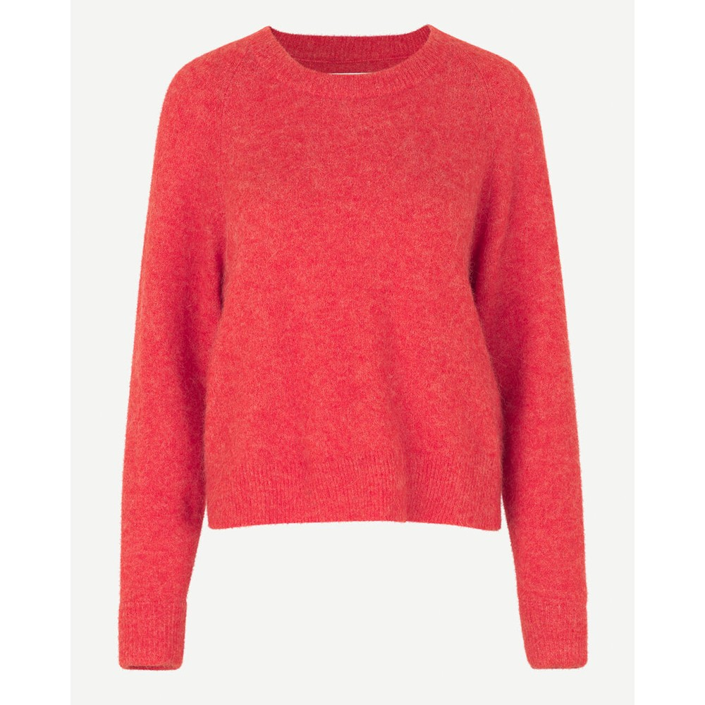Samsoe Samsoe Nor O Neck Jumper Fiery Red