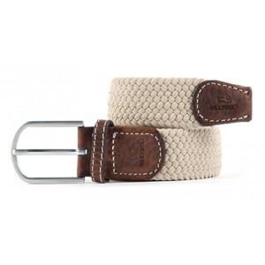 Billybelt The Braided Belt in Beige Sand