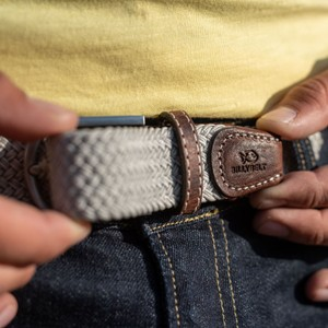 Billybelt The Braided Belt Beige Sand
