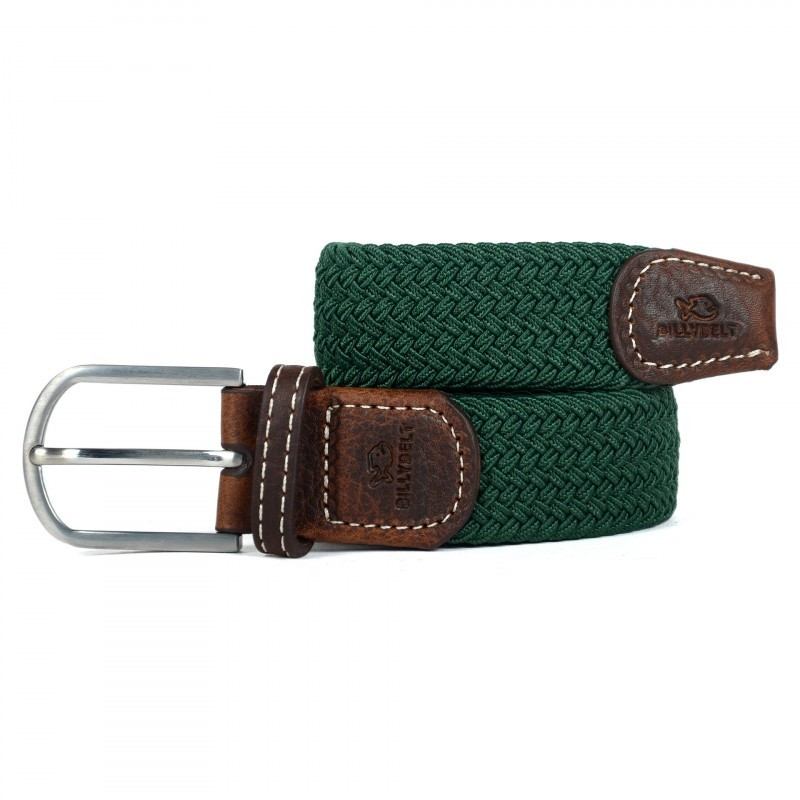 Billybelt The Braided Belt Imperial Green