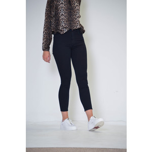 Alana Cropped Skinny High Rise Jean Blue Bird