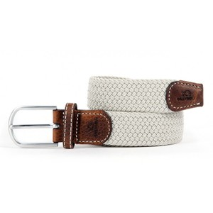 Billybelt The Braided Belt in Grey Seagull