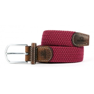 The Braided Belt Burgundy