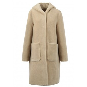 Angelique Rev Teddy Coat Coffee
