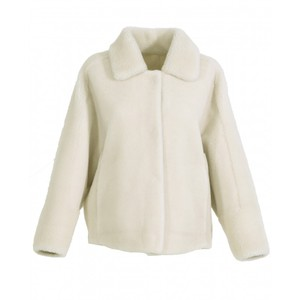 Oakwood Helen Reversible Teddy Jkt Light Beige