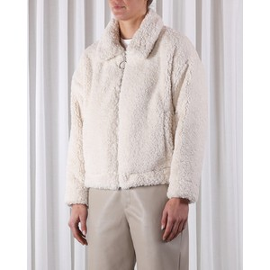 Cadiz Teddy Jacket Snow White