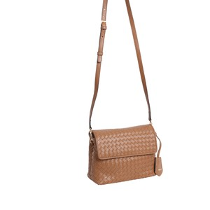 abro Annie Weave X/Body Bag Camel