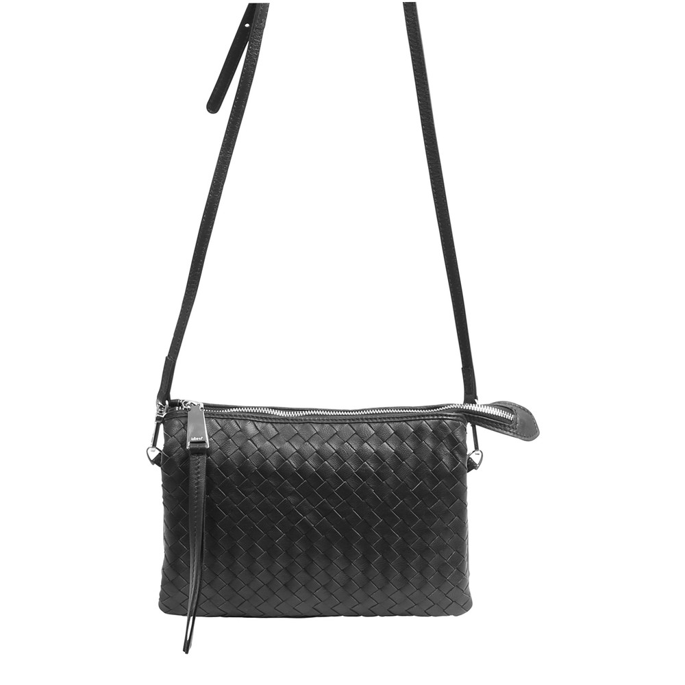 abro Threefold Weave X/Body Bag Black