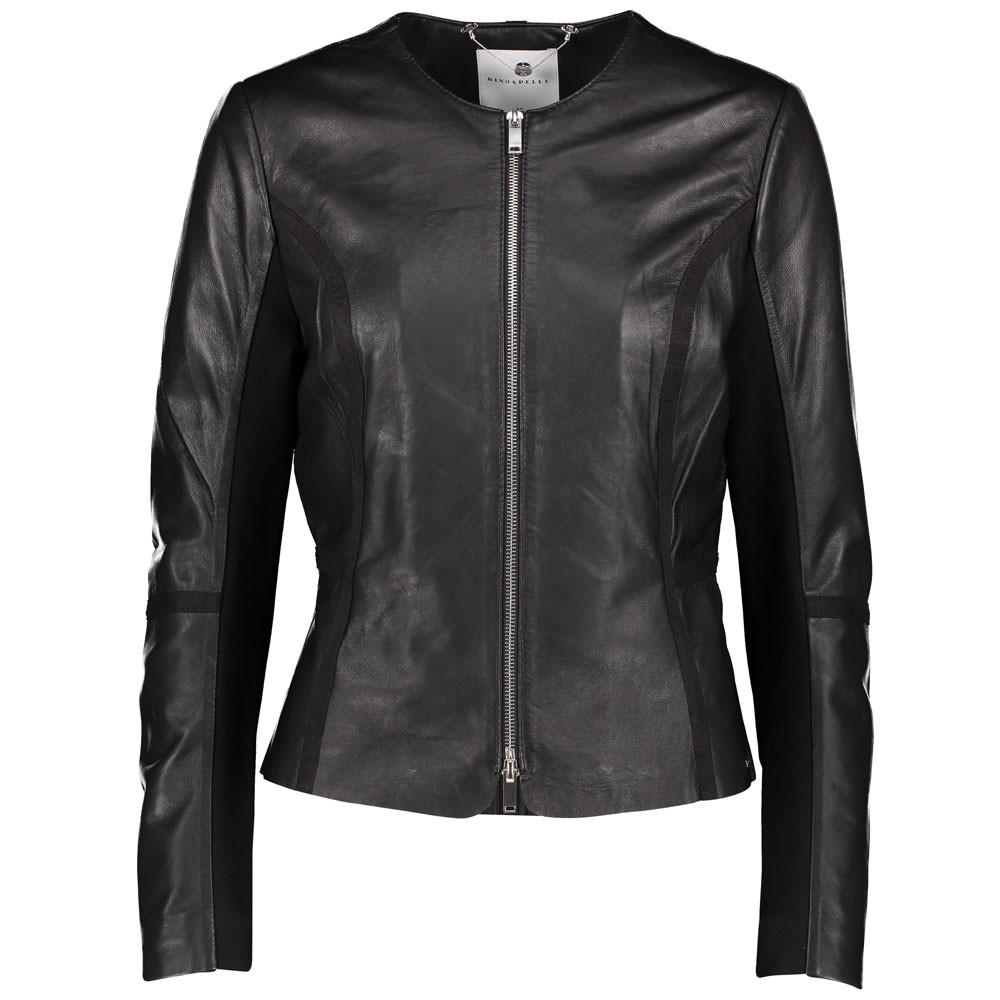 Rino & Pelle Torri Leather Jacket Black