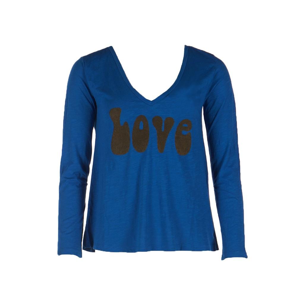 Five L/S V/N Love T Shirt Classic Blue