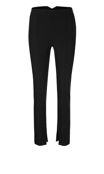 Marc Cain Split Hem Slim Trousers Black