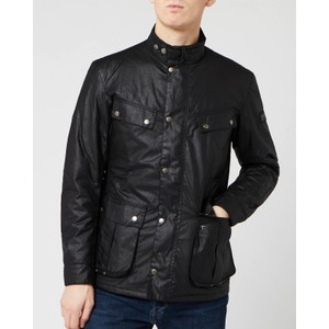 Duke Wax Jacket Black