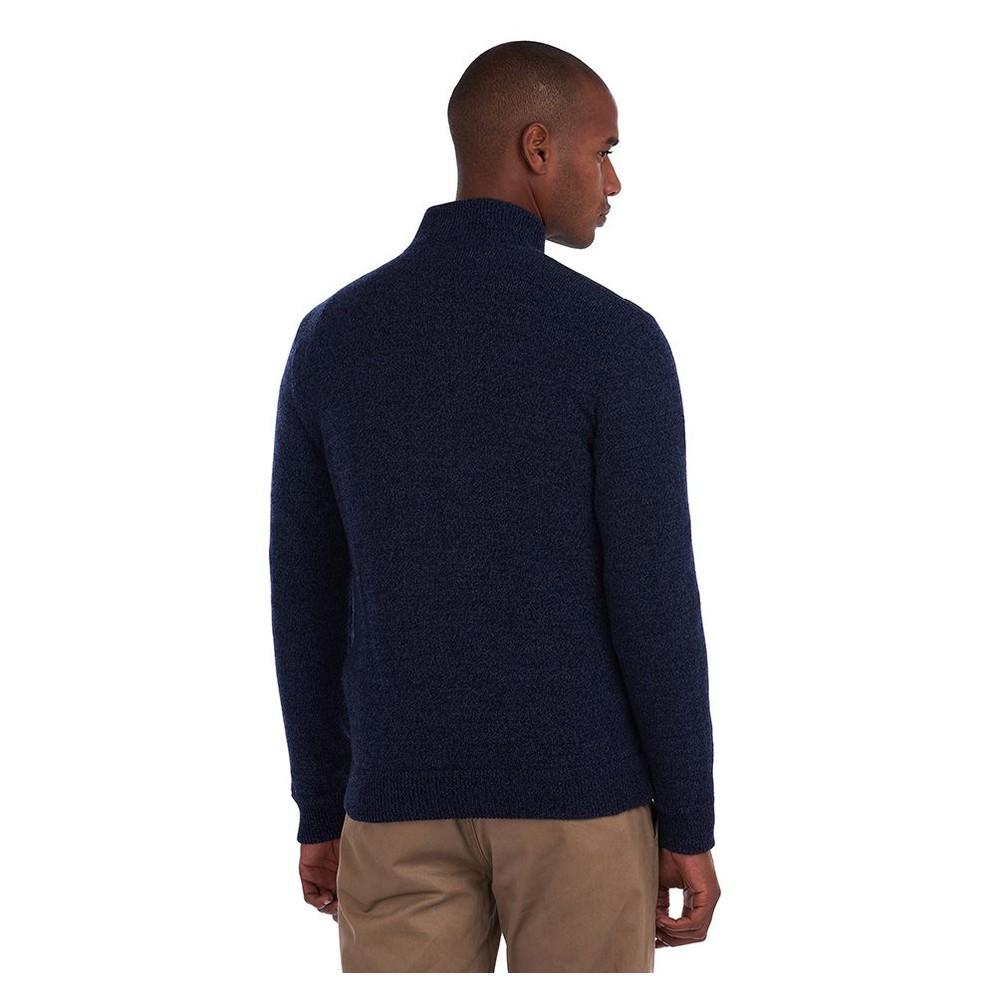 Barbour Magnus Zip Thr Sweater Navy