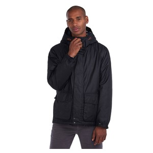 Grendle Wax Jacket Black